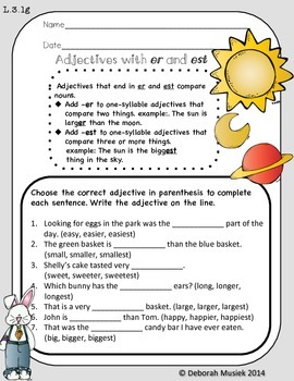 Easter Themed Nouns and Verb Mini Unit