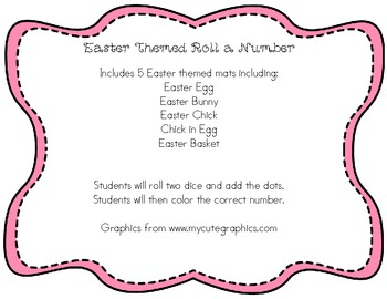 Easter Themed Roll A Number