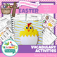 Easter Themed Speech Therapy Activities Value Bundle