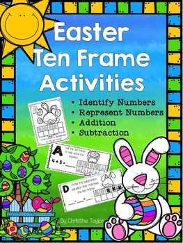Easter Themed Ten Frame Activities