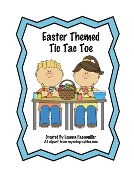Easter Themed Tic Tac Toe