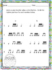 Easter Themed--Worksheet pack for practicing rhythm & melo