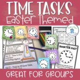 Easter Math Centers - Telling the Time