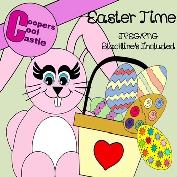 Easter Time Clip Art (CCC)