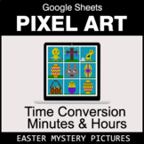 Easter: Time Conversion: Minutes & Hours - Google Sheets P