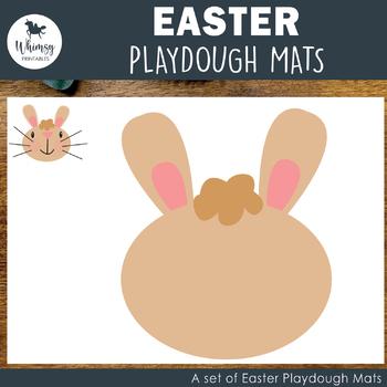 Easter Time Playdough Mats