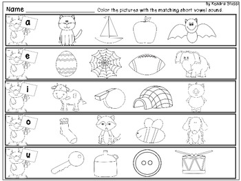Easter Time - Short Vowel Set