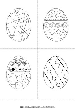 Easter Time Tags and Colouring Eggs!