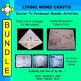 Easter To Pentecost Bundle for Grades Pre-K to Grade 1