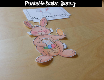 Easter Tools {Counting Eggs + Printable Bunny}