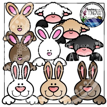 Easter Page Toppers Clipart Bundle