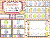 Easter Literary and Math - Early Learning Activities for Toddlers and Pre-School