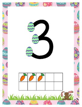 Easter TouchMath Posters