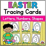 Easter Tracing Cards: Letters, Numbers, Shapes