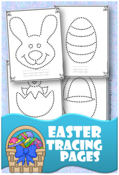 Easter Tracing Pages