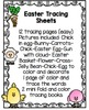 "Easter Tracing Pages ""No Prep"""