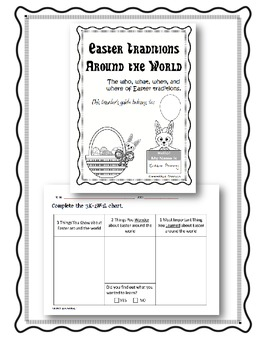 Easter Traditions Around the World Traveler's Guide Bundle