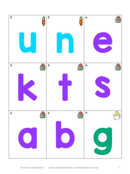 Easter Treasure Hunt Word Puzzle