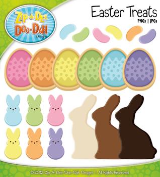 Easter Treats Clipart {Zip-A-Dee-Doo-Dah Designs}