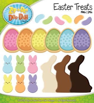 Easter Treats Clipart {Zip-A-Dee-Doo-Dah Designs}