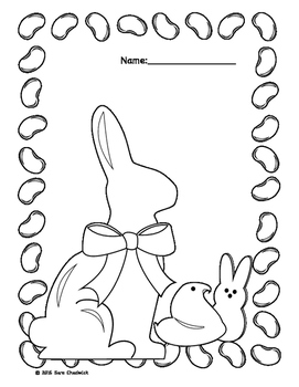 Easter Treats Coloring Pages