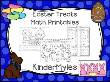 Easter Treats Math Printables