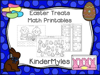 Easter Treats Math Printables