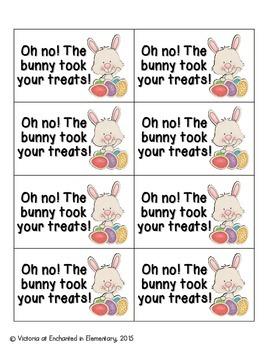 Easter Treats Phonics: Beginning Digraphs Pack