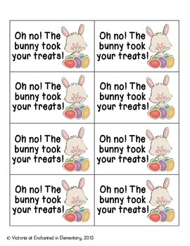 Easter Treats Phonics: Ending Digraphs Pack