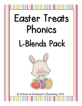 Easter Treats Phonics: L-Blends Pack