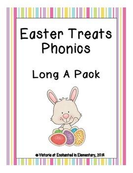 Easter Treats Phonics: Long A Pack
