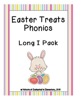 Easter Treats Phonics: Long I Pack
