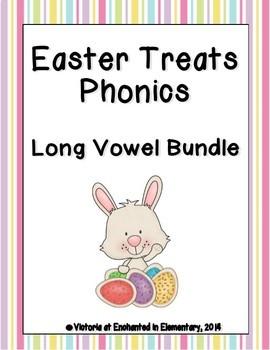 Easter Treats Phonics: Long Vowel Bundle