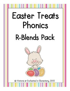 Easter Treats Phonics: R-Blends Pack