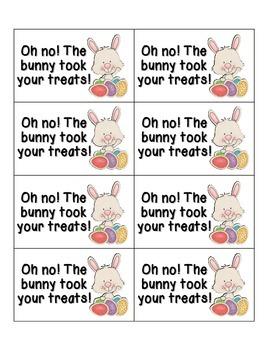 Easter Treats Phonics: Short E Pack