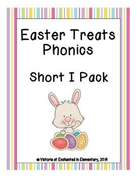 Easter Treats Phonics: Short I Pack