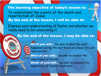 Easter Tutor Time / Lesson