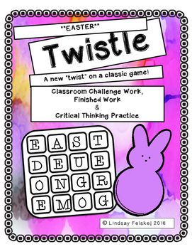 Easter Twistle