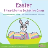 "Easter - Two ""I Have-Who Has"" Subtraction to 10 Games / Co"