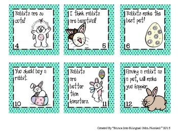 Easter Unit: fact/opinion,sequence, ABC, reg/irregular past verbs; MATH