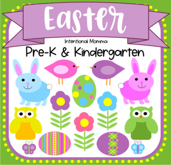 Easter Unit for Pre-K and Kindergarten Centers