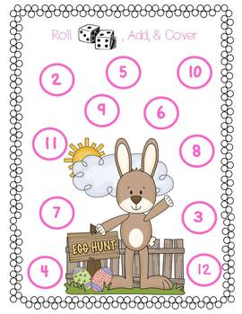 Easter Unit {literacy and math}