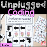 Easter Unplugged Coding Activity for Beginners (English an