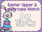 Easter Upper & Lowercase Alphabet Match