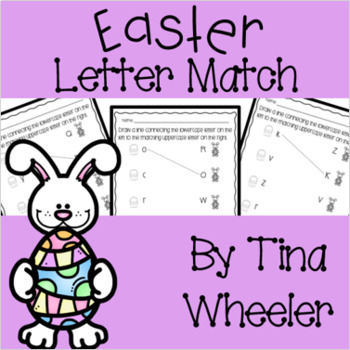 Easter Uppercase and Lowercase Letter Match