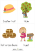 Easter Vocabulary Cards