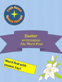 Easter Articulation Word Find /TH/ No Prep Speech Therapy
