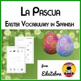 Easter Vocabulary in Spanish - El vocabulario de la Pascua