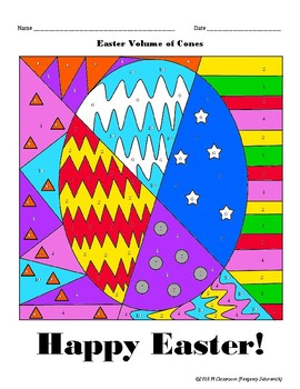 Easter Volume Cones