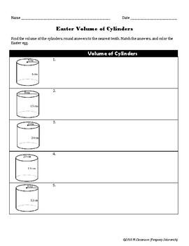 Easter Volume Cylinders